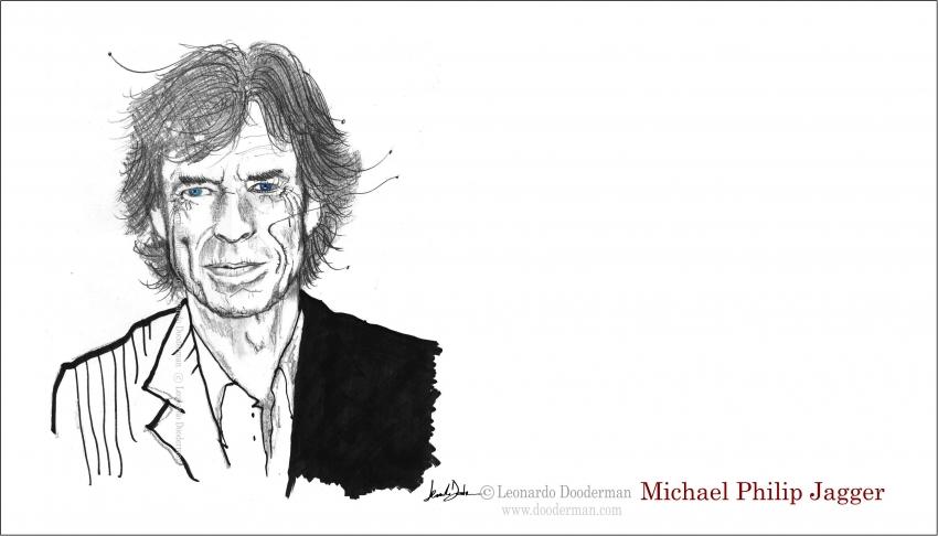 Mick Jagger by leonardodooderman